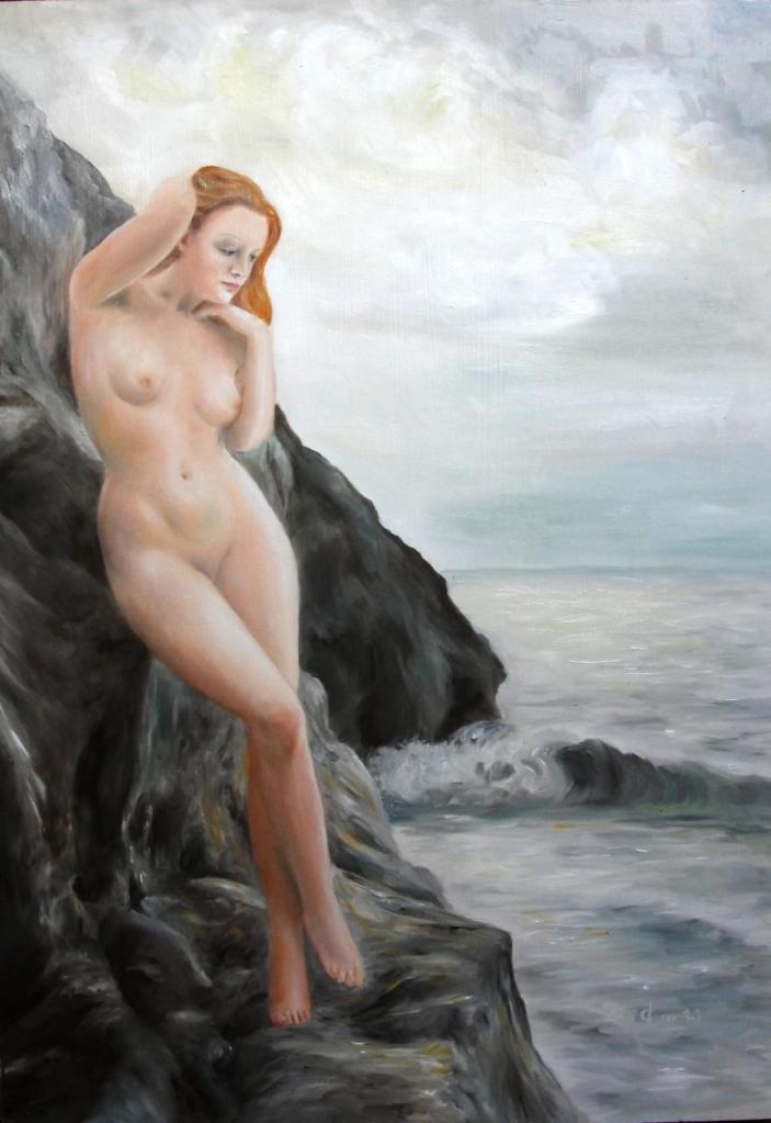Nymphe au bord de mer, Jean-Joseph Chevalier