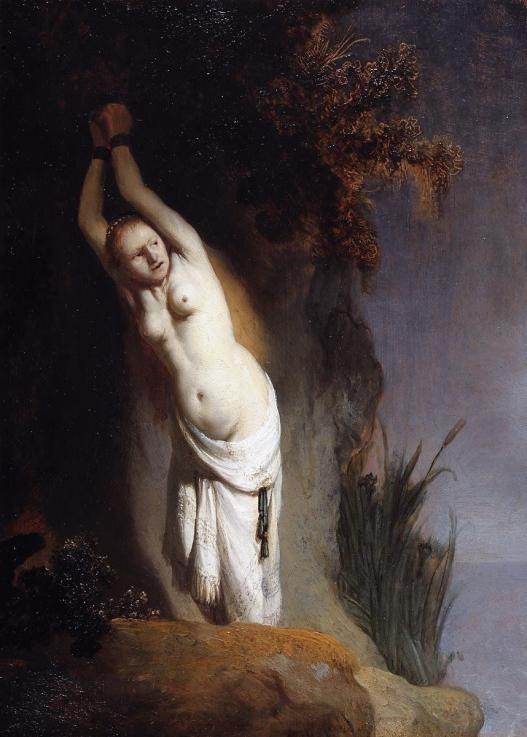 Andromède enchaînée au rocher, 1631, Rembrandt, Mauritshuis