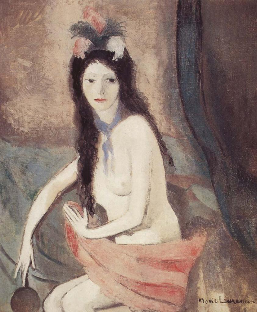 Nu au miroir,  1916, Marie Laurencin