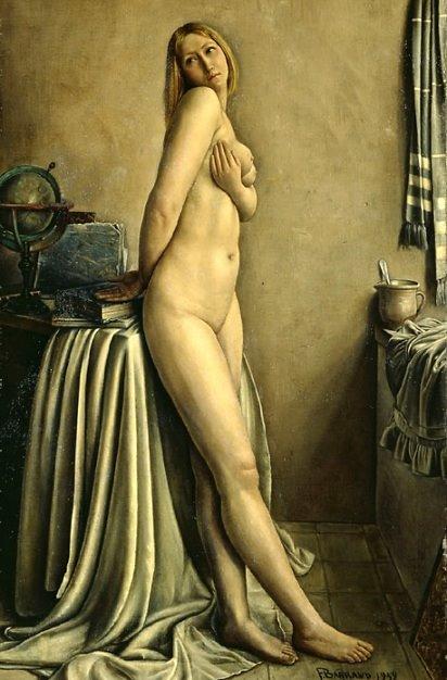 La Langoureuse, 1932, François-Emile Barraud